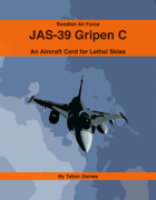 Swedish Air Force JAS-39 Gripen C