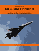 India Air Force Su-30MKI Flanker H