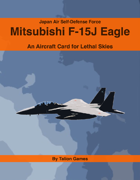 Japan Air Self-Defense Force Mitsubishi F-15J Eagle