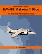Spain Armada Española EAV-8B Matador II Plus