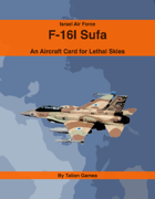 Israel Air Force F-16I  Sufa