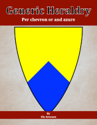 Generic Heraldry: Norman Per chevron or and azure