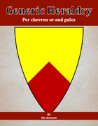 Generic Heraldry: Norman Per chevron or and gules