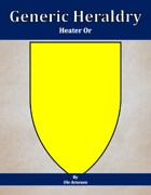Generic Heraldry: Heater Or
