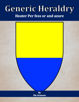 Generic Heraldry: Heater Per fess or and azure