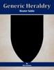 Generic Heraldry: Heater Sable