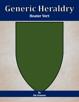 Generic Heraldry: Heater Vert
