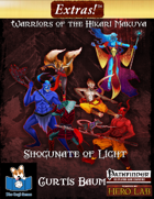 Extras! Warriors of the Hikari Makuya (5 heroes level 5)