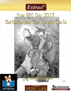 Extras! Bartholomew the Corgin Cleric: Free RPG Day 2018