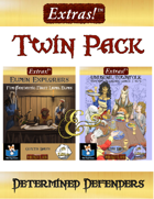 Extras! Twin Pack Determined Defenders 5E