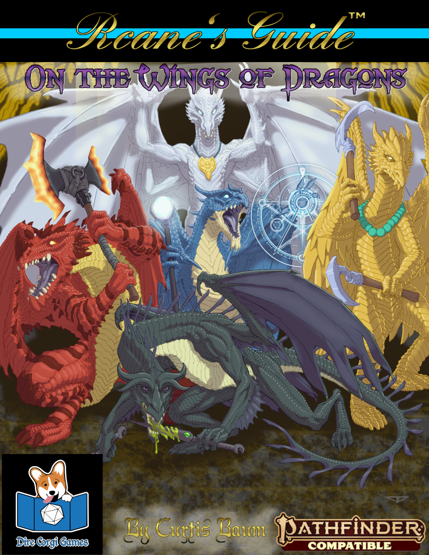 Rcane's Guide: On the Wings of Dragons (Pathfinder Second