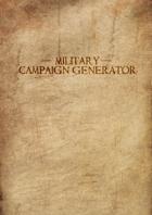 Military Campaign Generator