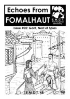 Echoes From Fomalhaut #02: Gont, Nest of Spies