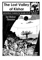 The Lost Valley of Kishar