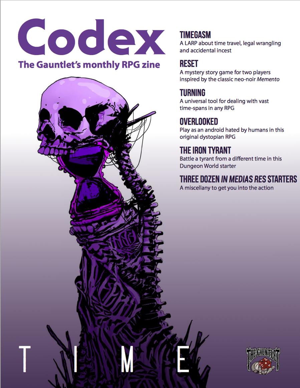 Codex - Time (Jun 2017) - The Gauntlet | DriveThruRPG com