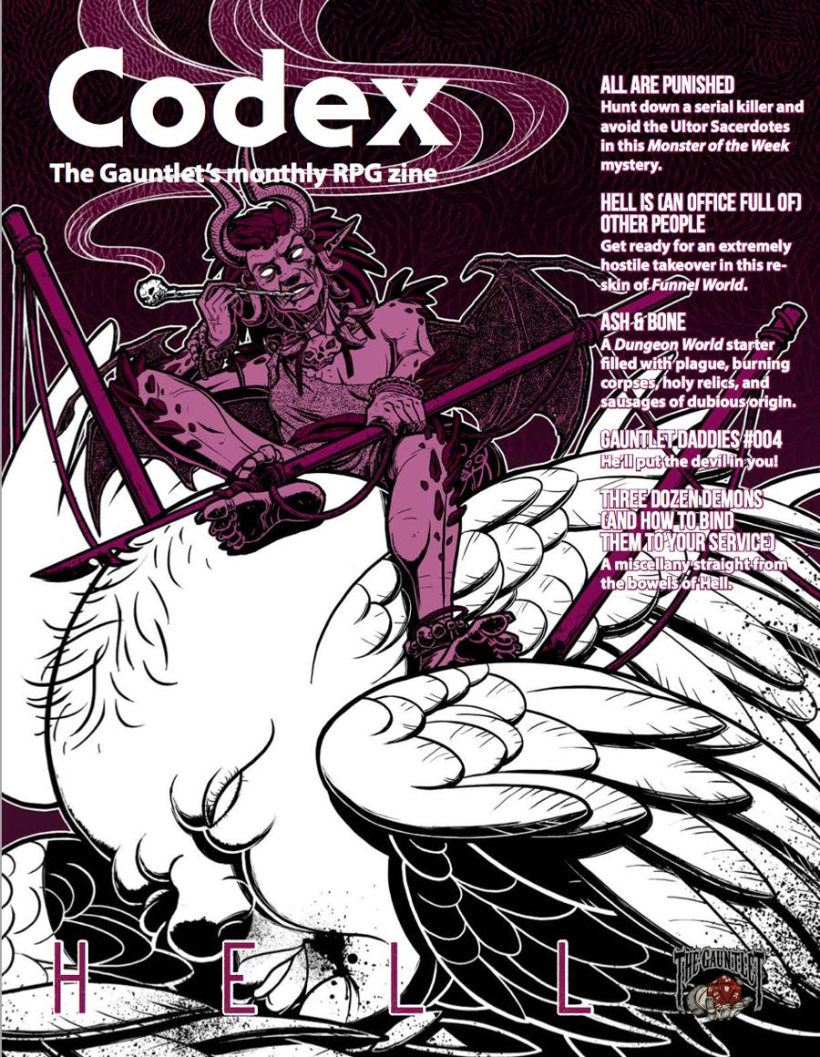 Codex - Hell (Dec 2017) - The Gauntlet | DriveThruRPG com