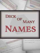 Deck of Many Names