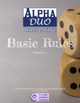 Alpha Duo Roleplaying: Basic Rules