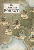 The Princess Bride RPG: The Thieves' Forest map
