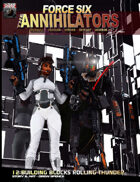 Force Six, The Annihilators 12 Building Blocks Rolling Thunder