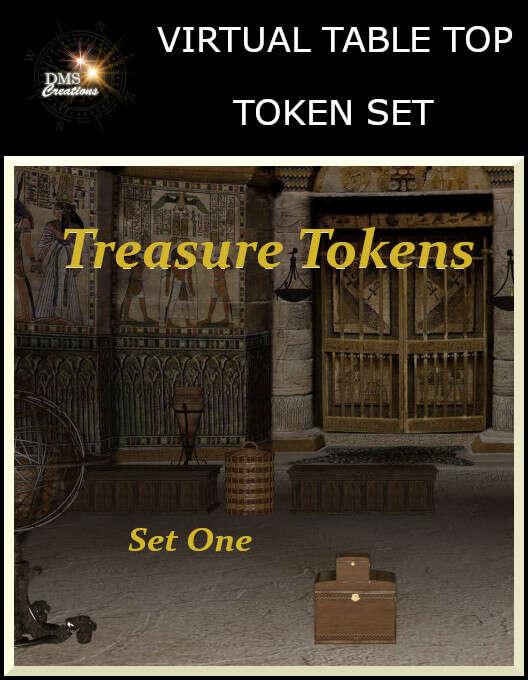 Treasure Tokens Set One