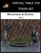 Monuments & Statues Set 2