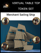 Merchant Sailing Ship Set