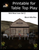 Sized to Print - Wild West Town II: Black Hills Run