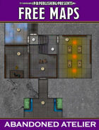 P.B. Publishing Presents: FREE MAPS 7 - Abandoned Atelier
