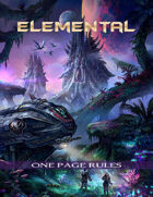 ELEMENTAL One Page Rules