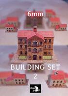 6mm Houses set 2