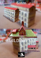 6mm Buildings Set 3