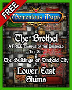 A FREE Building of Direhold City: The Brothel