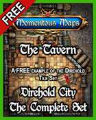 A Free Building of Direhold City_ The Tavern