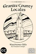 Granite County Locales Watchtower Hills
