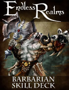 Endless Realms: Barbarian Skill Deck