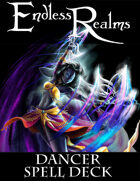 Endless Realms: Dancer Spell Deck