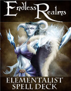 Endless Realms: Elementalist Spell Deck