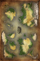 Endless Realms Lumis World Map