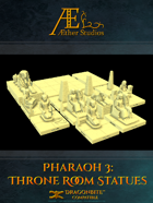 Pharaoh 3: Throne Room Statues