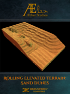 Rolling Elevated Terrain: Sand Dunes