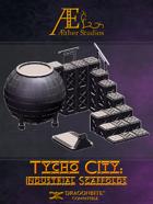Tycho City: Industrial Scaffolds