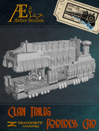 Electro Rail Trains - Clan Tinleg Fortress Car