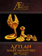 Aztlan Snake Miniatures