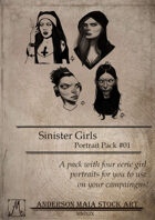 Sinister Girls Portraits Pack #01