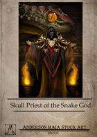 Skull Priest of the Snake God