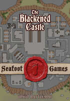 Seafoot Games - The Blackened Castle (60x60 Dungeon Battlemap)