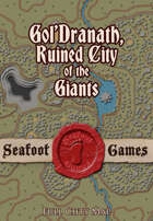 Gol'dranath, The ruined city of the giants, full city map.