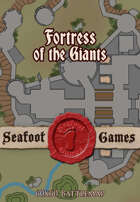 Seafoot Games - Fortress of the Giants (60x60 Dungeon Battlemap)