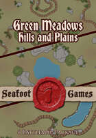 Green meadows hills and plains - 6 40x40 battlemap pack